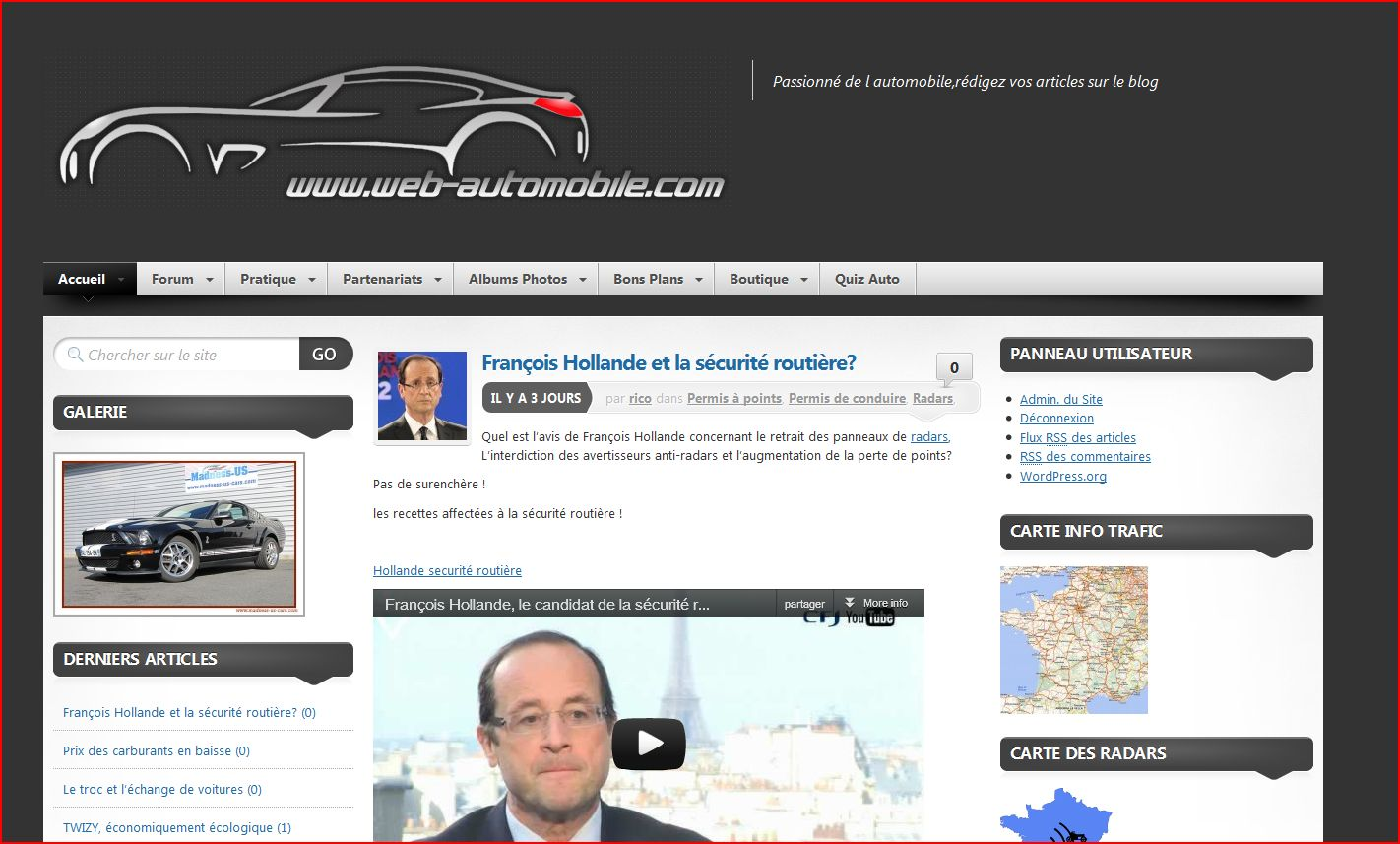 Web-Automobile.com le blog Auto Moto